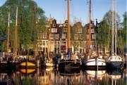 Sailing boats and historical facades