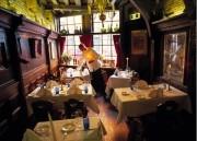 Waiter dressing tables
