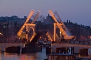 Illuminated drawbridge