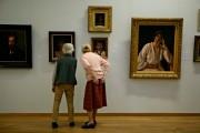 Visitors in The 'Dordrechts Museum'