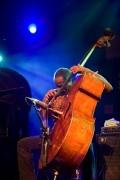 Bassplayer Alex Blake performing at the North Sea Jazz festival