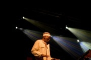 Pianist Randy Weston performing at the North Sea Jazz festival